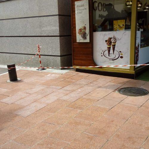 Limpieza viaria en las calles de Marbella