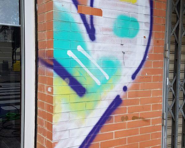 Eliminación de graffitis: consejos y método