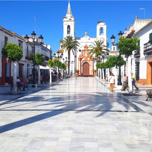 Recuperación de pavimentos en Almonte (Huelva)