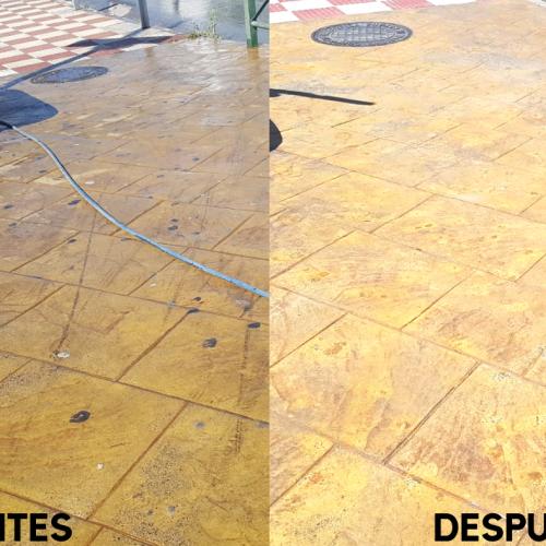 Recuperación de pavimentos en Alcaudete