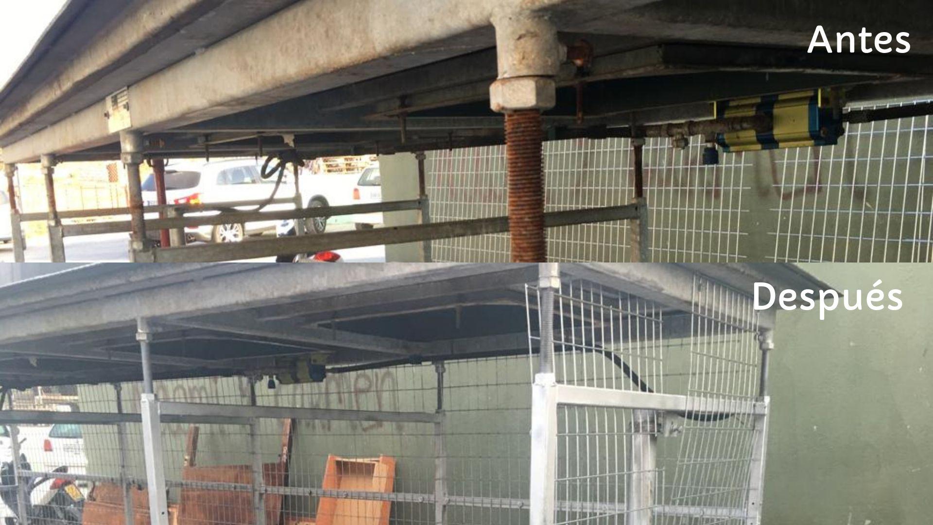 mantenimiento de contenedores en Almuñécar
