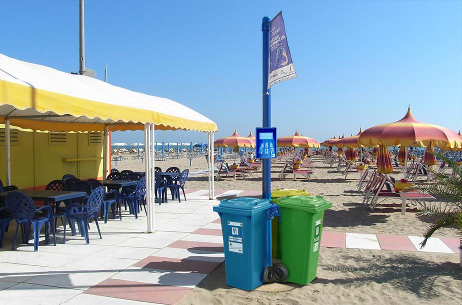 El verano y el problema de las colillas en la playa