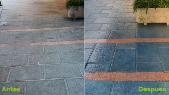 Novatecnic inicia la recuperación de pavimentos en Marbella