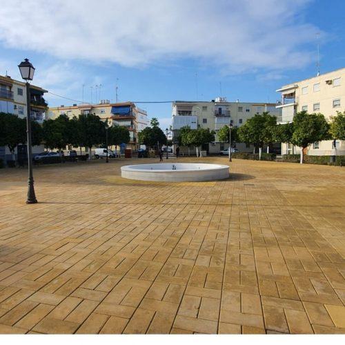 Terminadas las tareas de recuperación de pavimentos en Lora del Río