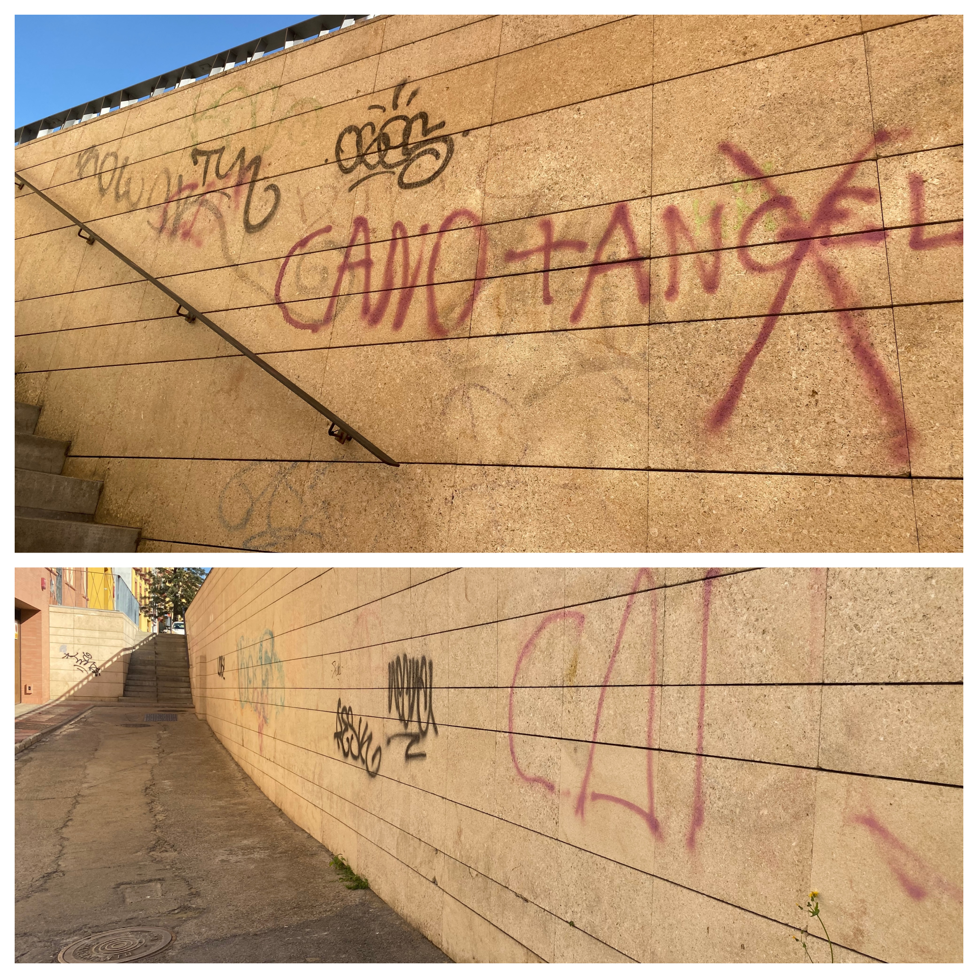 eliminacion graffitis alcala de guadaira