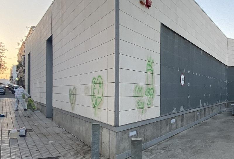 graffitis centro de interpretacion del patrimonio arqueologico san juan de aznalfarache