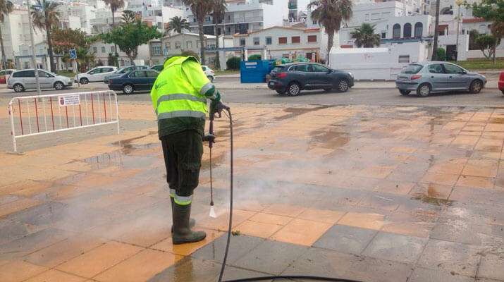 mantenimiento urbano limpieza viaria