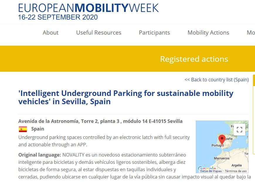 NOVALITY y la Semana Europea de la Movilidad