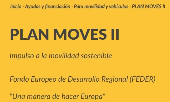 Plan MOVES II para fomentar la movilidad sostenible en las empresas