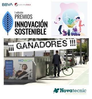 Innovación y sostenibilidad: Novality premiado por el Grupo Joly y BBVA